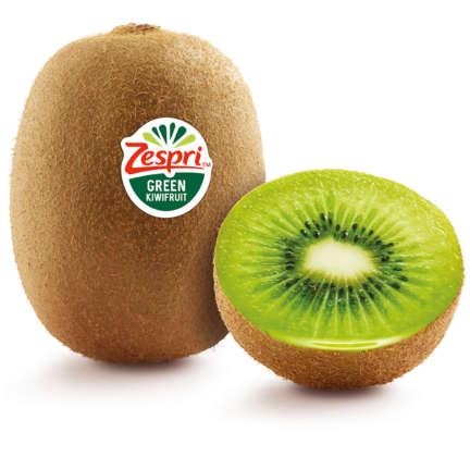kiwi Zespri green