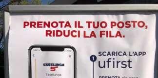 app esselunga ufirst code negozi