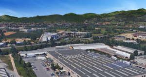 Vista aerea dell'azienda Mc Garlet