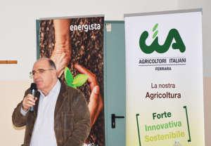 vicepresidente dell'associazione Cia-Agricoltori Italiani Ferraraa