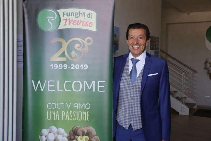 meo Fuser, presidente dell'Organizzazione dei produttori Consorzio Funghi Treviso