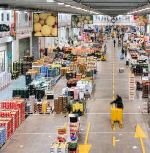 Il Mercato ortofrutticolo Genova visto dall'interno