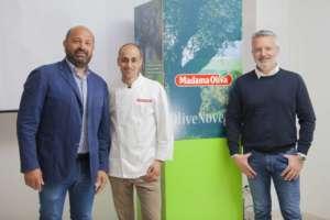 Nuovo team manageriale Madama Oliva, con lo chef Chef Massimo Salvadei, che si occuperà di ricerca & sviluppo