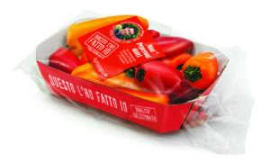 Mini peperoni a marchio Agribologna