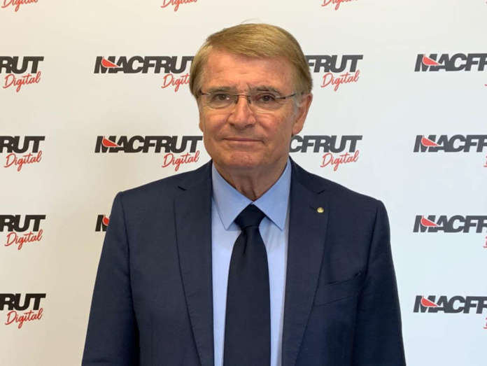 Renzo Piraccini, attuale presidente di Macfrut