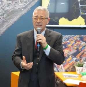 Giovanni Vassallo, presidente della Società Gestione Mercato, che gestisce il Mercato ortofrutticolo di Genova