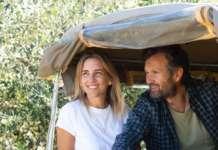 Lo chef stellato Carlo Cracco con la moglie Rosa Fanti