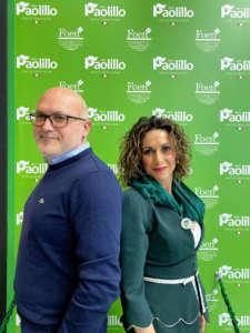 Mariapia e Ciro Paolillo, co-titolari dell'omonima azienda