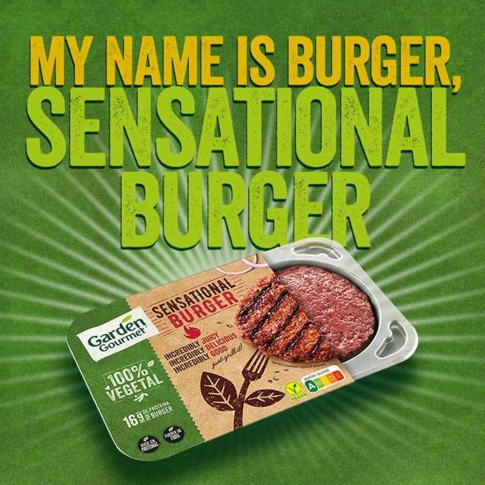 Il Sensational Burger Garden Gourmet, lanciato da Nestlé