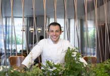 Raffaele Lenzi, executive chef del ristorante Berton al Lago del resort il Sereno