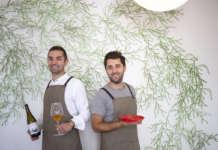 I fratelli Riccardo e Gabriele Escalante del ristorante Flora