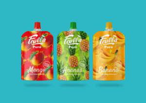 La nuova linea di prodotti Frullà Puro, 100% frutta tropicale monogusto