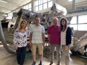 La famiglia Parma proprietaria dell'omonima azienda ortofrutticola