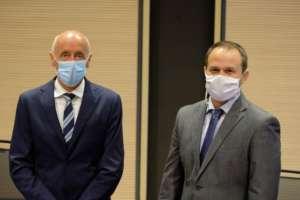 Il presidente della cooperativa Sant'Orsola Silvio Bertoldi e il direttore generale Matteo Bortolini