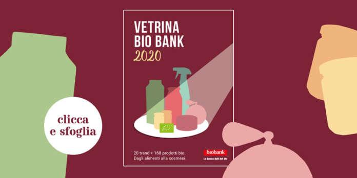 La pubblicazione di Bio Bank 2020 presenta anche 130 prodotti alimentari, tra eccellenze e novità , e oltre 40 di cosmesi e igiene