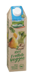 Frullato veggie a marchio Valfrutta