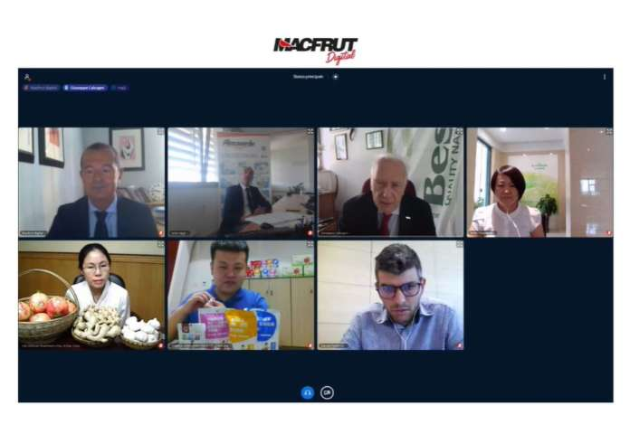 La Tavola rotonda del Forum Italia-Cina di Macfrut Digital