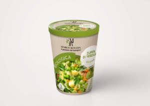 Zuppa bio di verdure con piselli Marco Roveda