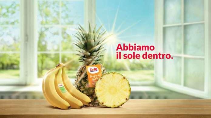 Dole, campagna pubblicitaria Abbiamo il sole dentro