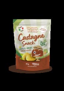 Castagna snack prodotta da Mitica