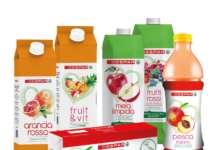 La nuova gamma di bevande alla frutta Despar