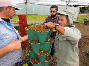 Comunità di farmer in Colombia