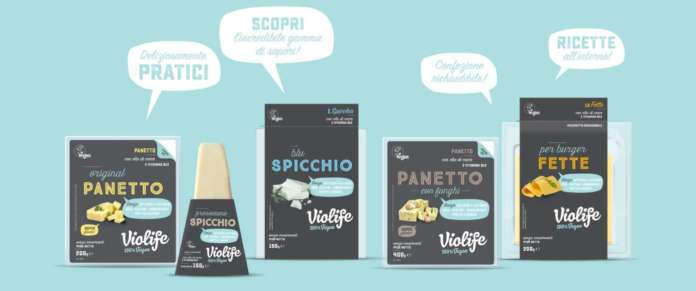 Formaggi vegani prodotti da Violife Foods