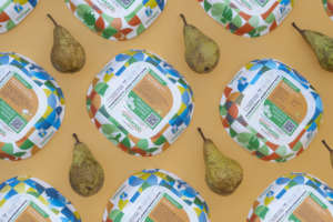 Vaschetta Ghelfi compostabile per Spreafico