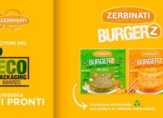 I Burger'Z Zerbinati, vincitori dell' Ecopackaging award 2020