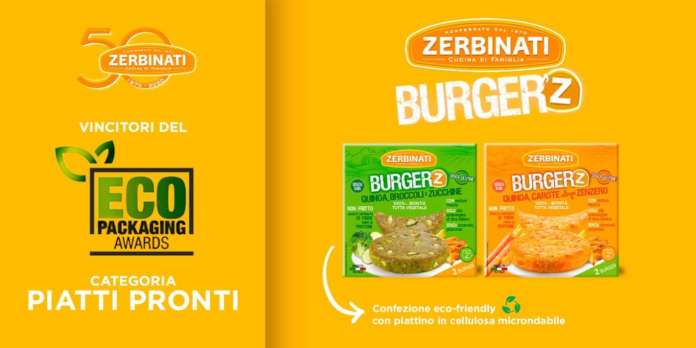 I Burger'Z Zerbinati, vincitori dell' Ecopackaging award 2020