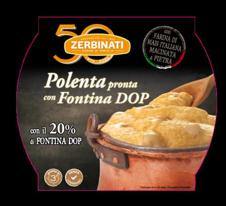 Zerbinati polenta con Fontina
