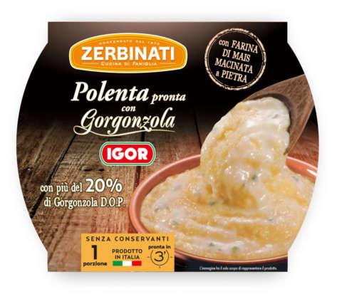 Zerbinati Polenta con gorgonzola