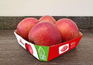 Red Moon bio, packaging in cartone