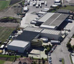 Lusia, sede dell'azienda