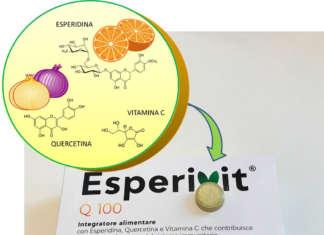 Esperivit Q 100, a base di quercetina ed esperidina, è disponibile nelle farmacie