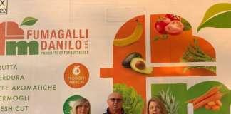 Antonella, Danilo ed Erika Fumagalli (da sin). Erika ha lanciato il progetto Pom Natura