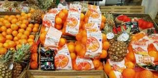 Stabili o in ribasso i prezzi delle arance