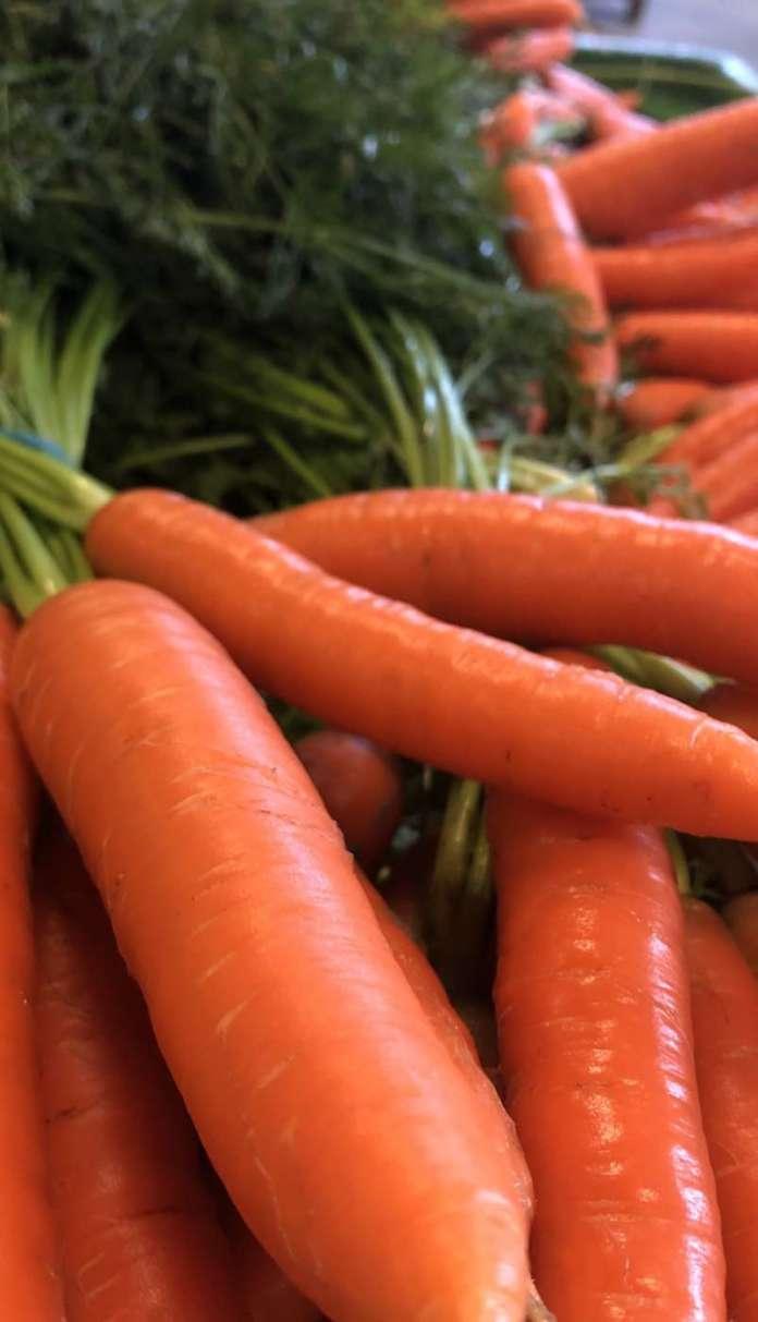 La carota del Fucino è molto colorata