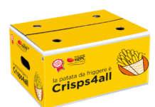 La varietà Crisps4all, la patata della Op Campania