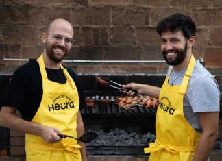 Marc Coloma e Bernat Añaños, co-founder di Heura Foods, il marchio spagnolo di carne vegetale