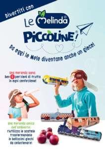 Melinda con Le Piccoline mira a far mangiare più frutta ai bambini