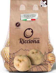 La patata Ricciona della Op Campania Patate