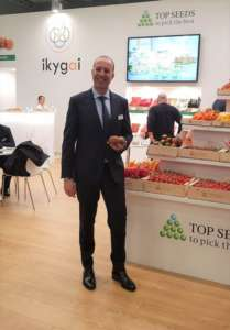 Angel Pelegrina, attuale country manager di Top Seeds Ibérica