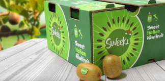 Sweeki, uno dei marchi di kiwi Origine Group per l'export