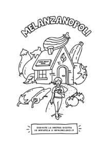 Il pack illustrato di Melanzì per la melanzana