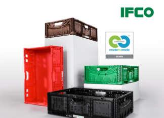 La gamma di RPC Lift Lock Ifco che ha ottenuto la certificazione Cradle to Cradle Certified Silver