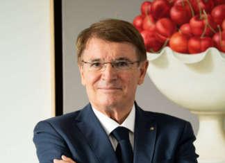 Renzo Piraccini, alla guida di Cesena Fiera