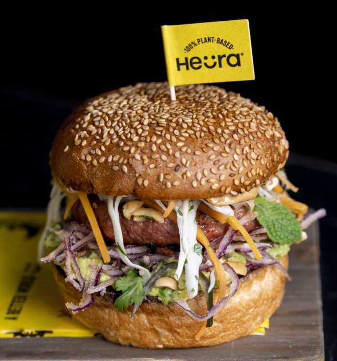 Heura Burger Al Mercato, chef Roncoroni