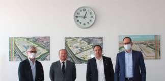 Firma dell'accordo tra Sogemi e Veronamercato