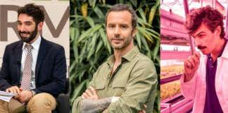Da sinistra: Mattia Accorsi, Luca Travaglini, Pierluigi Giuliani,i protagonisti del fuori suolo italiano